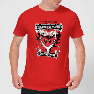 Harry Potter Triwizard Tournament Durmstrang Men's T-Shirt - Red