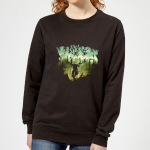 Harry Potter Patronus Lake Women's Sweatshirt - Black