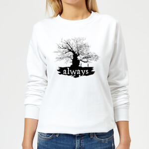 Harry Potter Always Tree Women's Sweatshirt - White