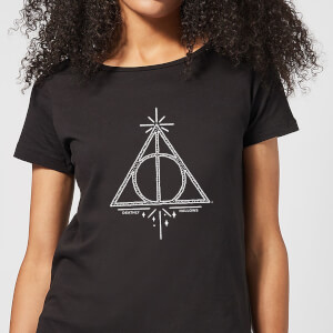 Harry Potter Deathly Hallows Women's T-Shirt - Black