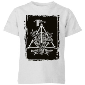 T-Shirt Harry Potter Three Brothers - Grigio - Bambini