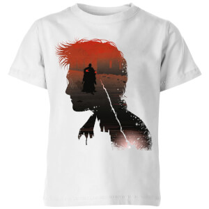 T-Shirt Harry Potter Harry Voldemort - Bianco - Bambini