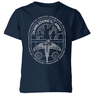 Harry Potter Dumblerdore's Army Kids' T-Shirt - Navy