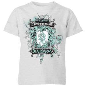 Harry Potter Triwizard Tournament Beauxbatons Kids' T-Shirt - Grey