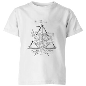 Harry Potter Three Dragons White Kids' T-Shirt - White