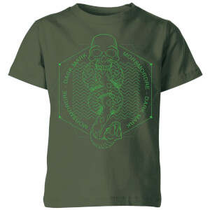 Harry Potter Morsmordre Dark Mark Kids' T-Shirt - Forest Green