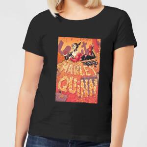Batman Harley Quinn Cover Women's T-Shirt - Black