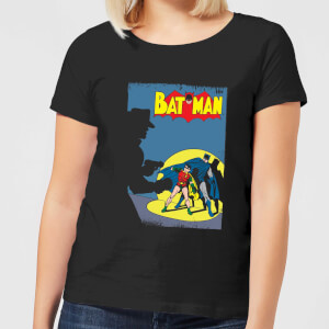 Batman Batman Cover Women's T-Shirt - Black