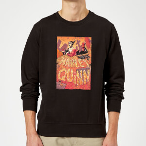 Batman Harley Quinn Cover Sweatshirt - Black