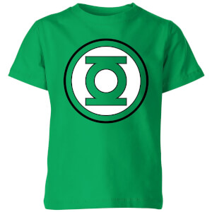 Justice League Green Lantern Logo Kids' T-Shirt - Kelly Green
