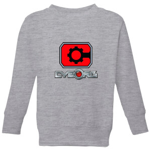 Justice League Cyborg Logo Kids' Sweatshirt - Grey