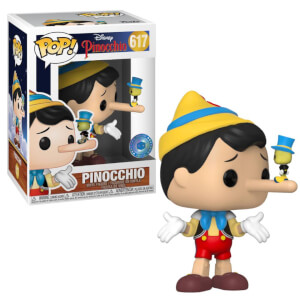 Figura Funko Pop! - Pinocchio Exclusiva Pop In A Box Para Suscriptores - Disney