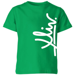 How Ridiculous XLIV Script Vertical Kids' T-Shirt - Kelly Green