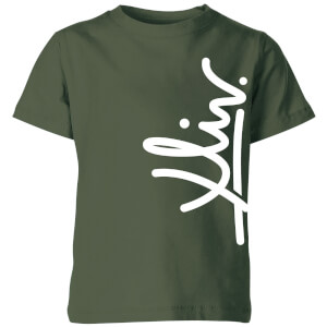How Ridiculous XLIV Script Vertical Kids' T-Shirt - Forest Green