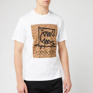 Coach Men's Signature Rexy by Guang Yu T-Shirt - White