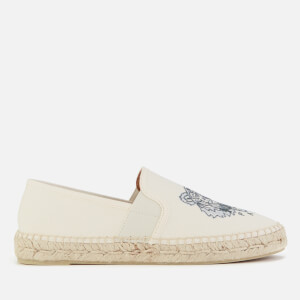 KENZO Women's Tiger Head Elastic Espadrilles - Putty