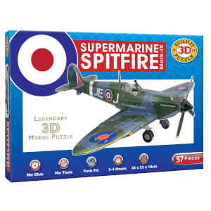 Build it 3D Spitfire Puzzle