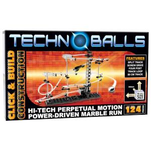 Techno Balls 129 Piece Marble Run