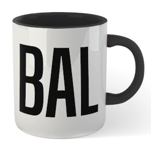 Bald Mug - White/Black