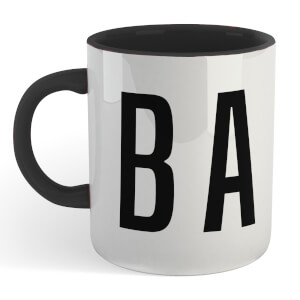 CBA Mug - White/Black