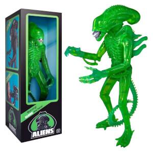 Super7 Figurine Alien Xenomorphe vert acide 46 cm