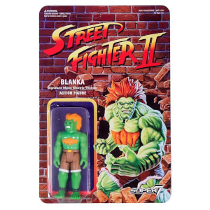 Super7 Street Fighter Blanka ReAction Figure