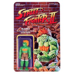 Super7 Street Fighter Blanka ReAction Figure