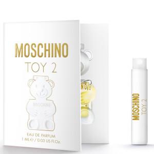 Moschino Toy 2 Eau de Toilette Vial Sample 1ml (Free Gift)