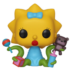The Simpsons Alien Maggie Pop! Vinyl Figure