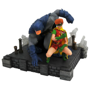 Diamond Select The Dark Knight Returns DC Comic Gallery PVC Statue Batman & Robin 20 cm