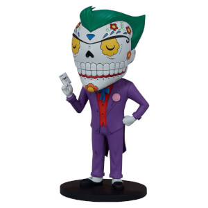 Sideshow Collectibles DC Comics - Designer PVC Statue The Joker Calavera 20 cm