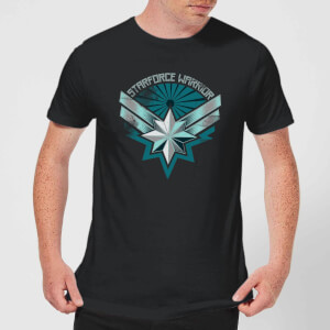 Captain Marvel Starforce Warrior Men's T-Shirt - Black