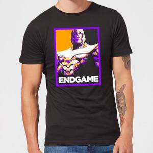 Avengers Endgame Thanos Poster Men's T-Shirt - Black
