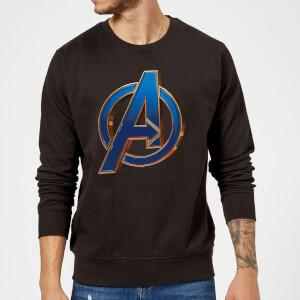 Sweat-shirt Avengers Endgame Heroic Logo Homme - Noir