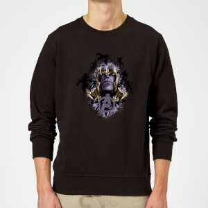 Avengers Endgame Warlord Thanos Sweatshirt - Black