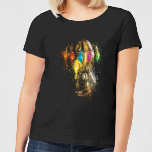 Avengers Endgame Infinity Gauntlet Warlord Women's T-Shirt - Black