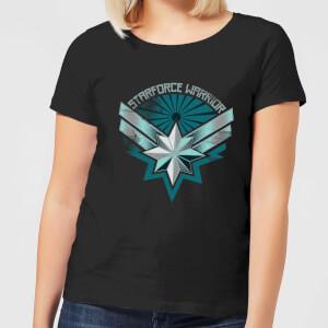 Captain Marvel Starforce Warrior Women's T-Shirt - Black