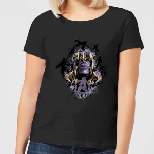 Avengers Endgame Warlord Thanos Women's T-Shirt - Black