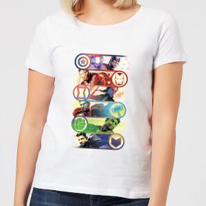 Avengers: Endgame Original Heroes dames t-shirt - Wit