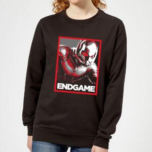 Avengers Endgame Ant-Man Poster Women's Sweatshirt - Black
