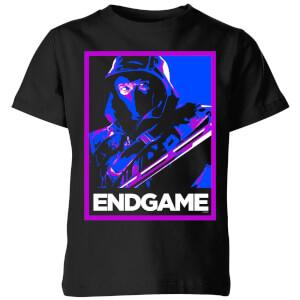 Avengers Endgame Ronin Poster Kids' T-Shirt - Black