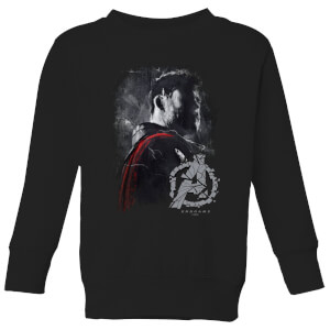 Sweat-shirt Avengers Endgame Thor Brushed - Enfant - Noir