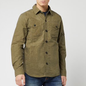 Barbour Men's Beacon Dalby Overshirt - Dusky Green