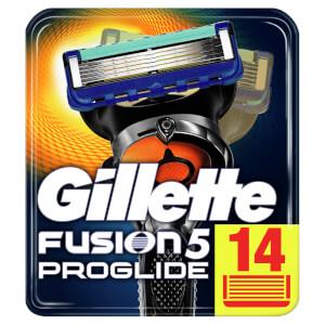 Gillette Fusion5 ProGlide Rasierklingen - 14Stück