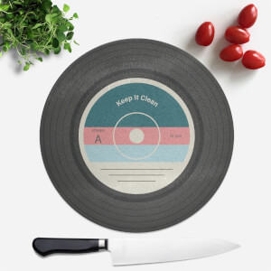 Keep It Clean Round Chopping Board