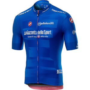 Castelli Giro D'Italia Squadra Jersey - Azzurro