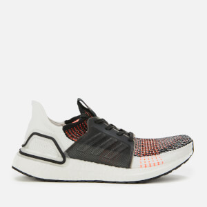 adidas Men's Ultraboost 19 Trainers - Orange/Black/White