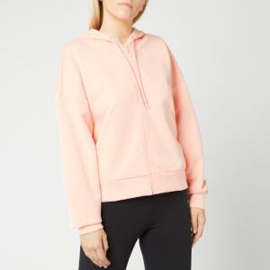 adidas Women's 3 Stripe Dk Hoodie - Pink