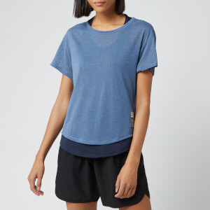 adidas Women's Adapt Short Sleeve T-Shirt - Blue