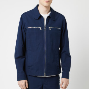 A.P.C. Men's Veste Oahu Jacket - Marine